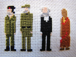 Ernesto Che Guevara, Fidel Castro, Karl Marx, Dalai Lama