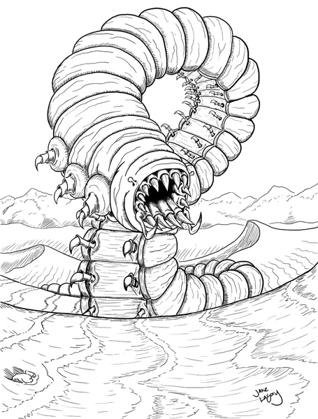 cryptid coloring pages - photo#26