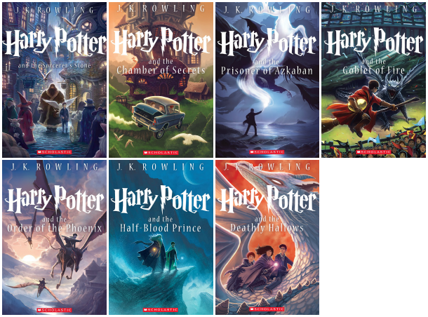 Harry Potter Book Cover Png : Harry potter favorite edition nerdybirdie