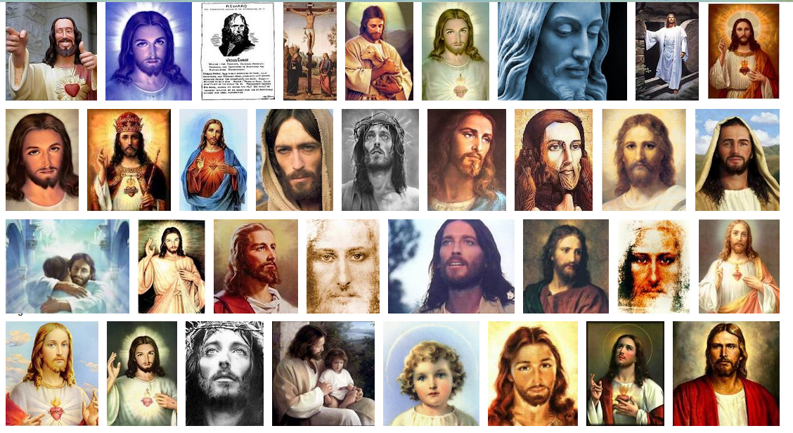 Color of Christ White Jesus  By Their Strange Fruit