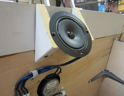 Rear Mounted Goldwood GT-25 Tweeter