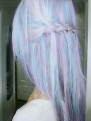 peinados+mechas+colores