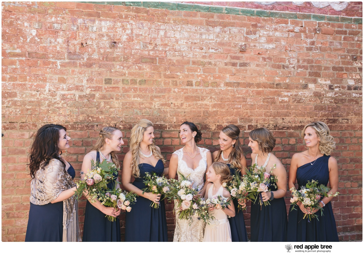 Red Apple Tree Photography Old Cigar Warehouse Wedding Reception With Tara Nathan Greenville Sc