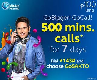 Globe GO CALL 100