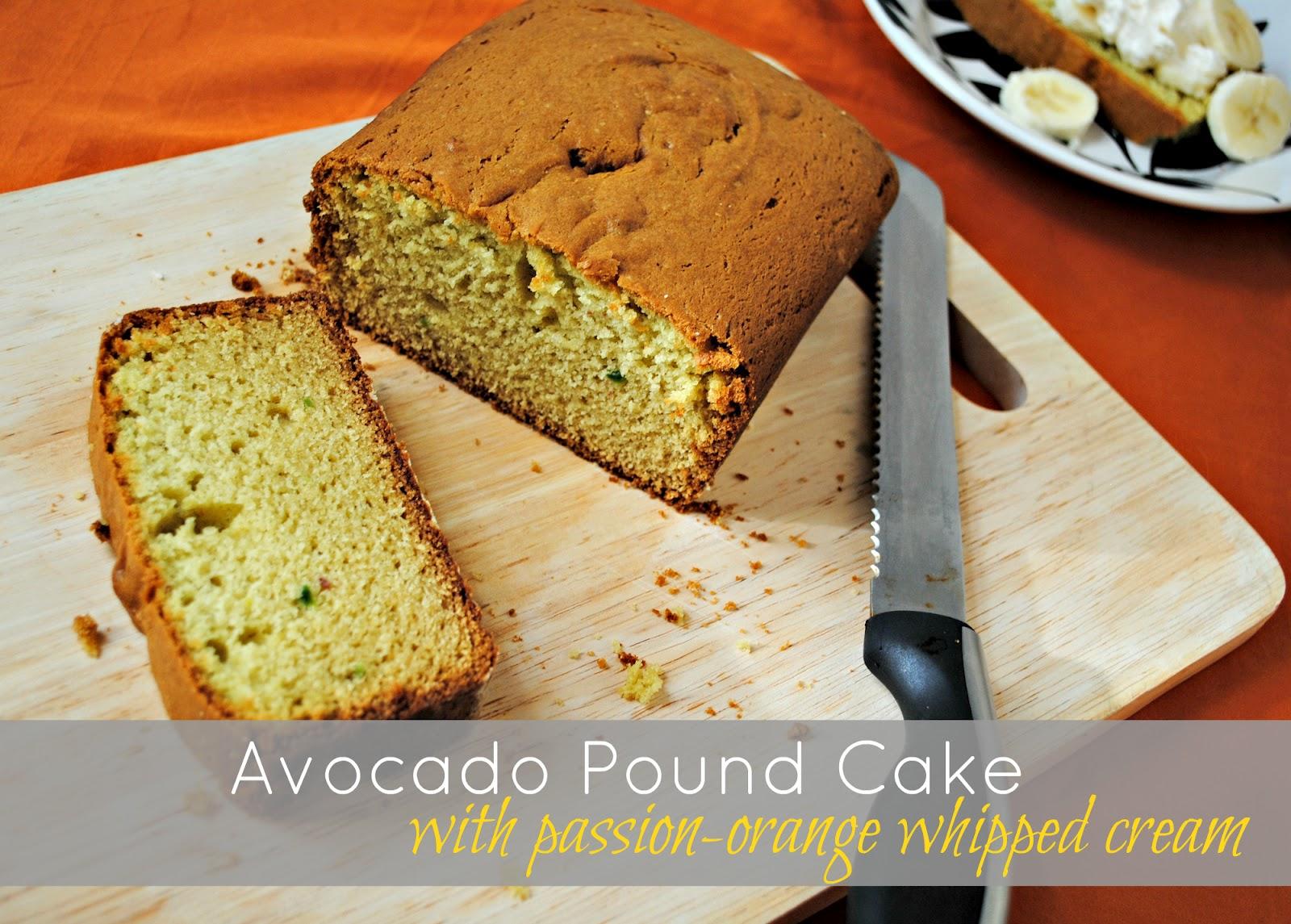 ... Pinch of Salt: Sundays with Joy -- Avocado Pound Cake (Tiffany Style