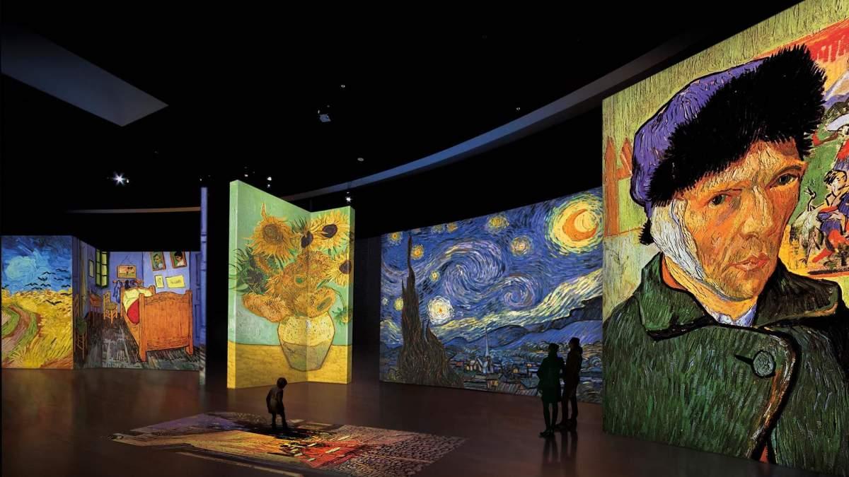 Van Gogh Alive: Ο Βαν Γκογκ ζωντανεύει στο
