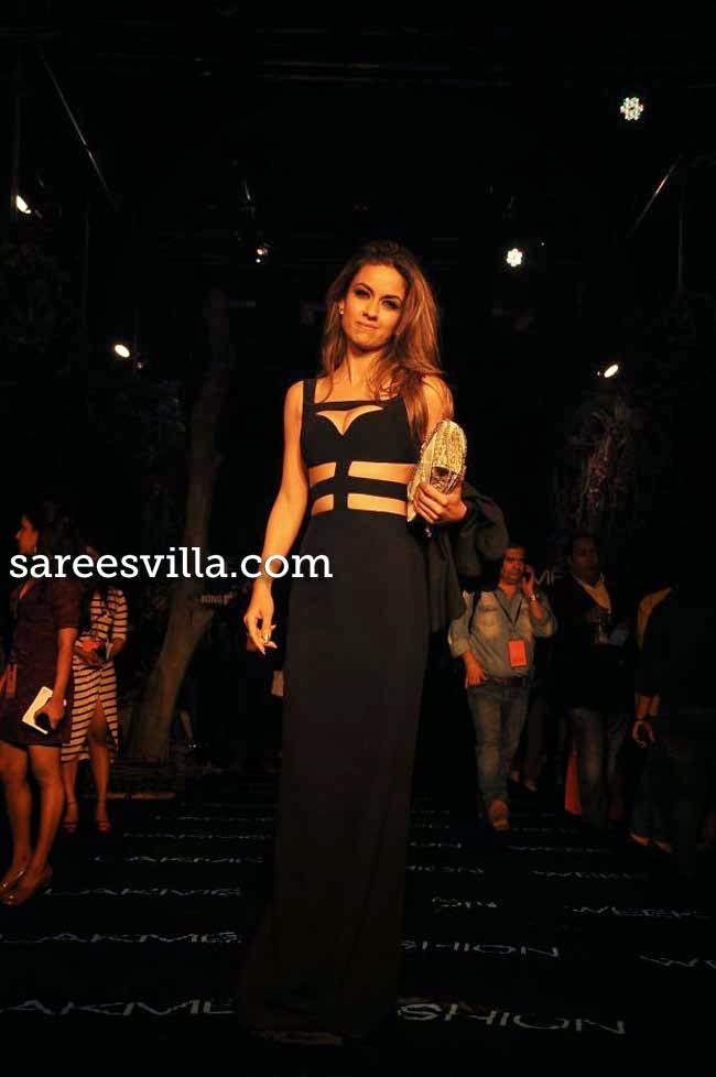 Celeb at Lakme Fashion Week Summer 2014
