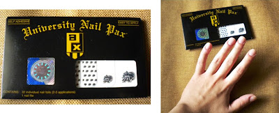 University Nail Pax packaging