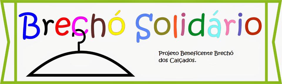 Brechó Solidário.