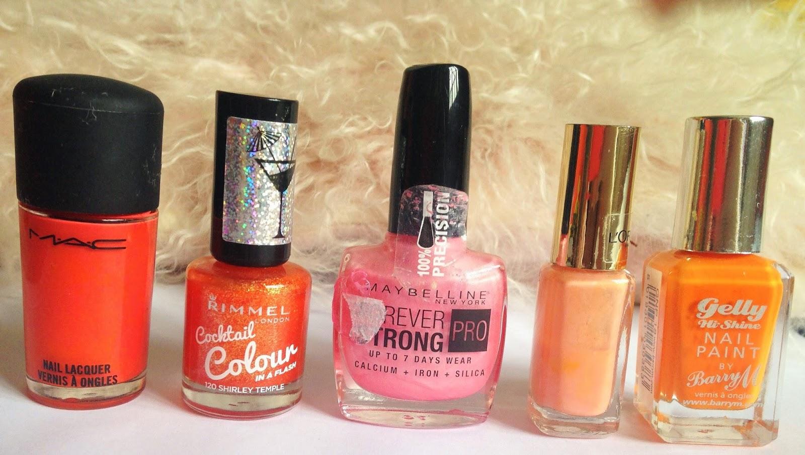 sabrina jaine my top 10 nail polishes for spring summer
