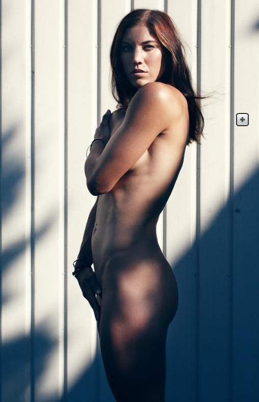 Hope Solo ESPN Body Issue Photos