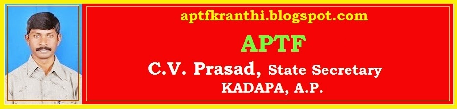 CV Prasad's Aptfkranthi.blogspot.com