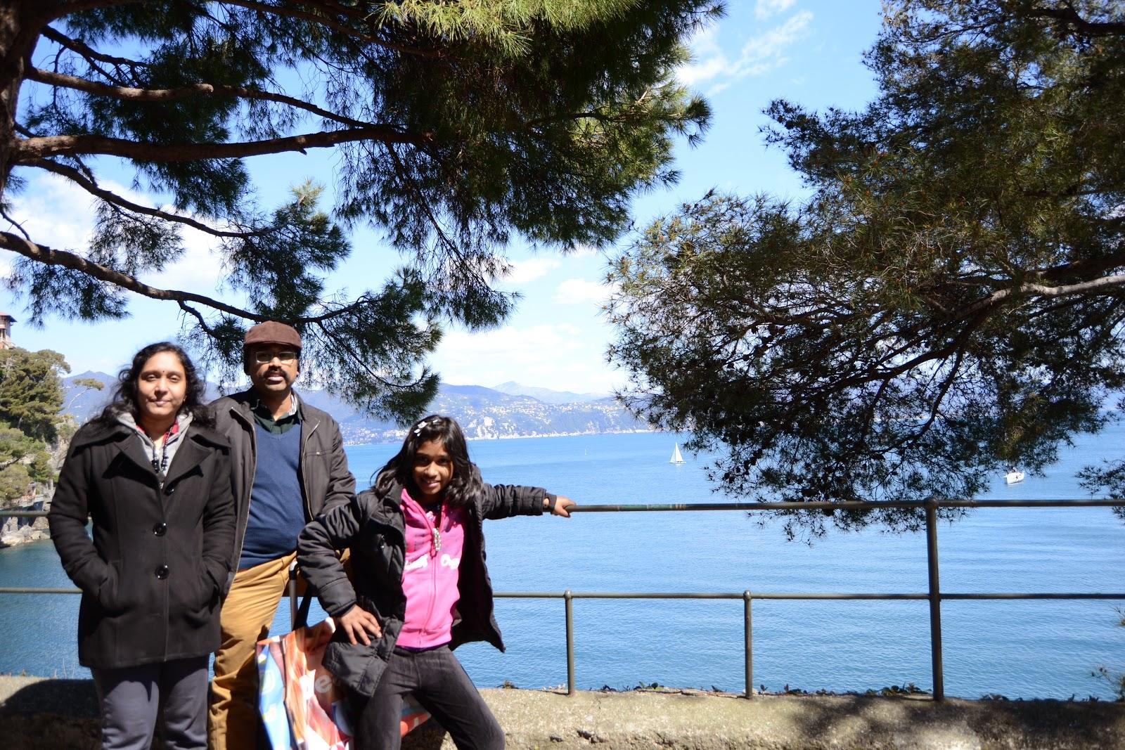A family picture @ Portofino