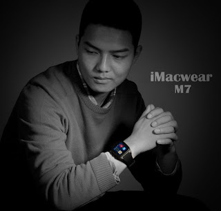 iMacwear M7 un smart watch phone con android 4.4, dual core, 3G, micro sim, pantalla IPS capacitiva 2
