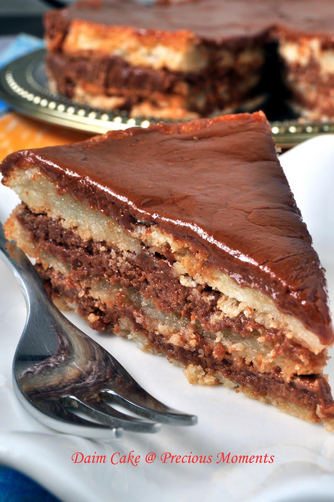 Daim Bar Cake Recipe