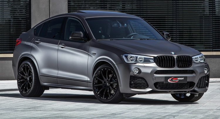 Lightweight S Stealthy Bmw X4 Has Up To 370hp