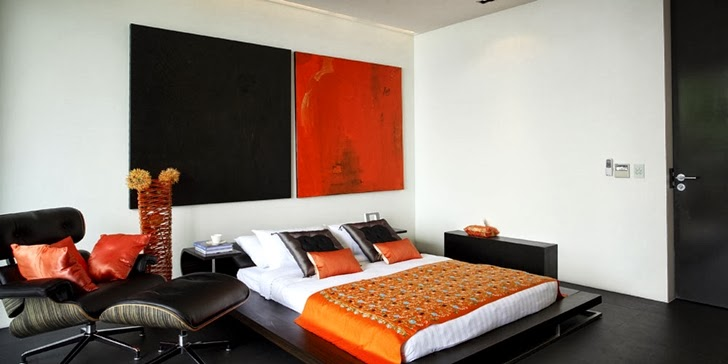 Second bedroom in an Amazing contemporary Villa Yin in Phuket