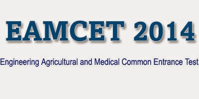 EAMCET Results 2014 Medical and Engineering
