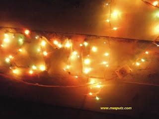 Memperbaiki Lampu Hias Rusak Mati Total