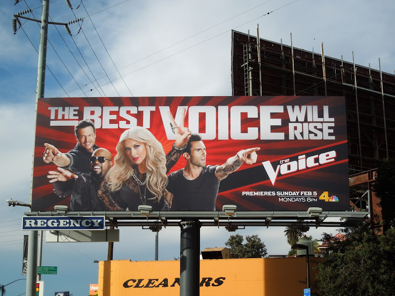 The Voice season 2 billboard