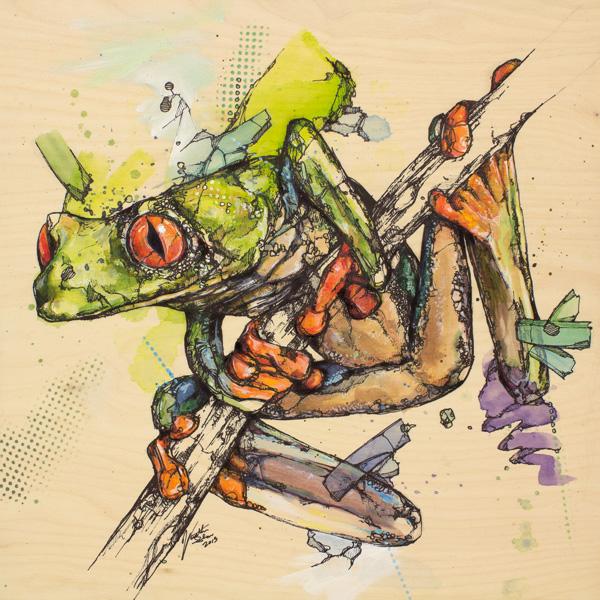 nuncalosabre.Pintura. Painting - Jon Shaw