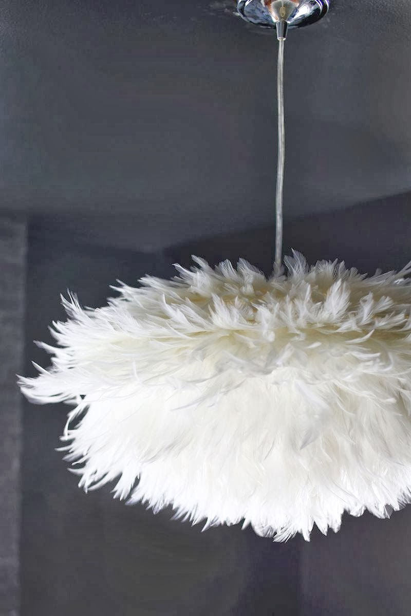 DIY FEATHER PENDANT
