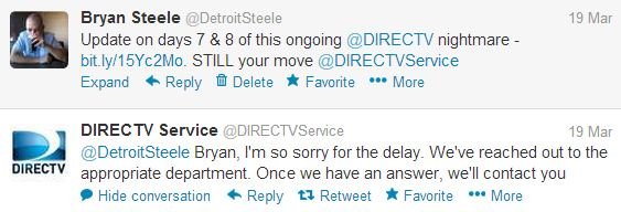 direct tv customerservice