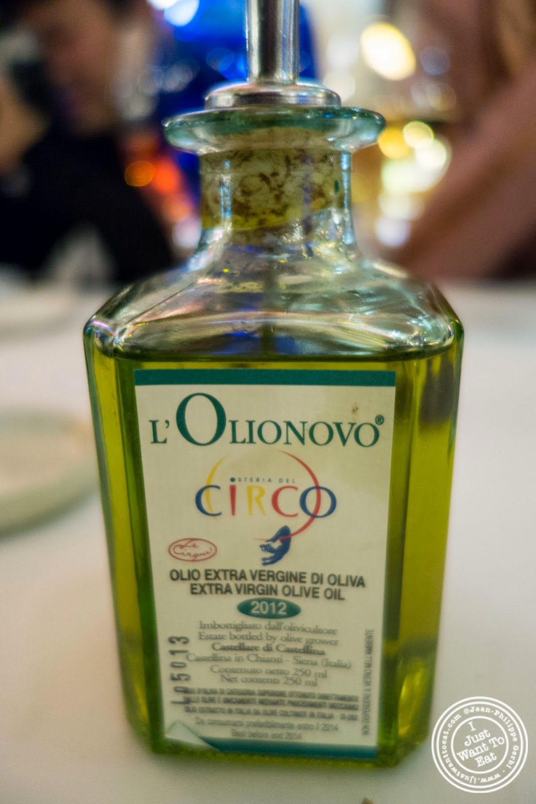image of Olive oil at Circo in NYC, New York
