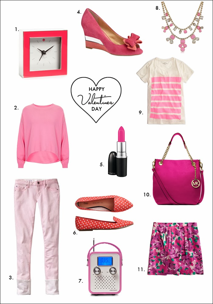 pink shoes, retro radio, MK bag, MAC lipstick, nordstrom gift ideas