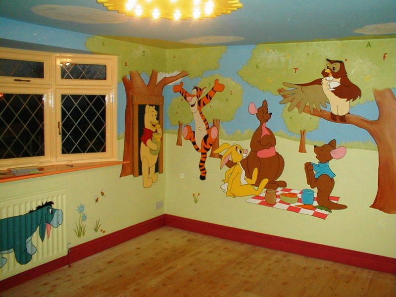 Decoration Murale Winnie L Ourson