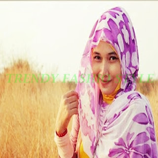 THE LATEST HIJAB MODELS FOR LADIES DRESSES