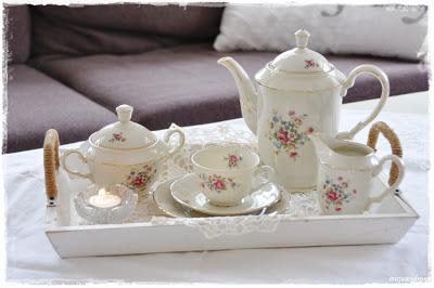 Porsgrund porselen kaffeservise