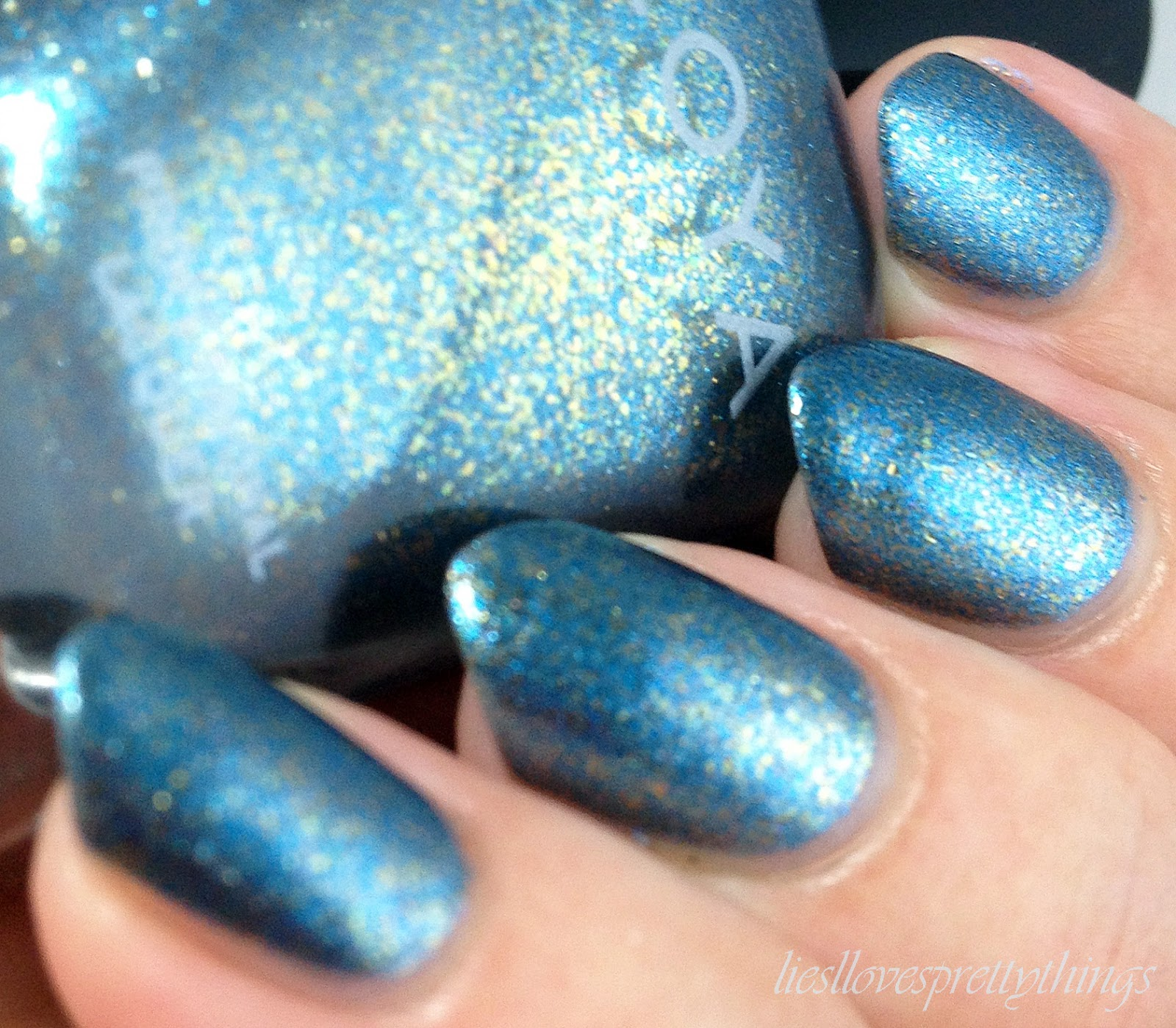 Zoya Crystal swatch and review