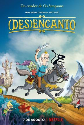 Desencanto - 1ª Temporada Desenhos Torrent Download completo
