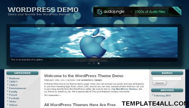 Related to Free Blogger Templates & Premium WordPress Themes | eBlog