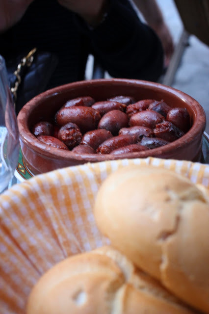 Fresh chorizo | Madrid | Chichi Mary Blog