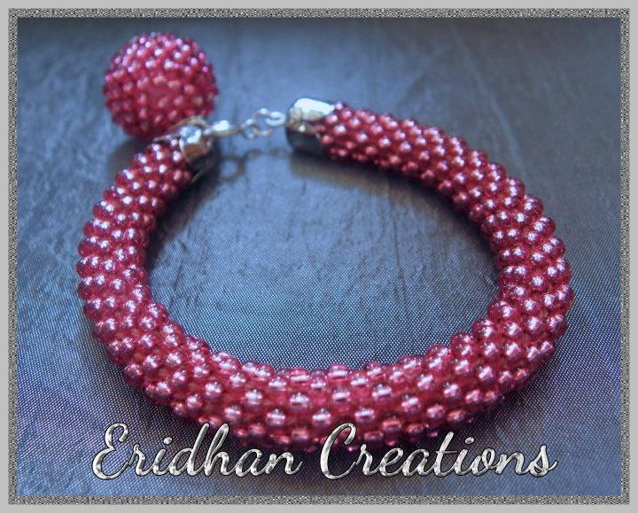 Beaded Crochet : beaded crochet bracelet