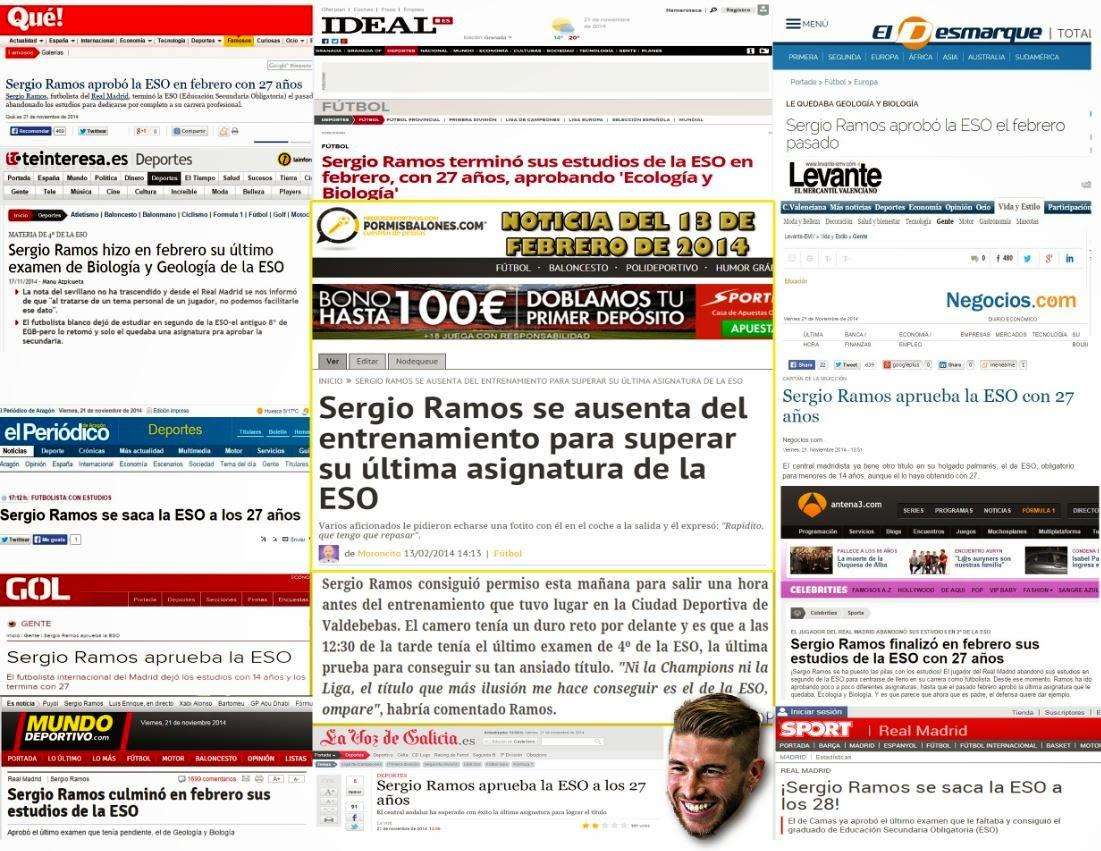 Noticias falsas del año 2014