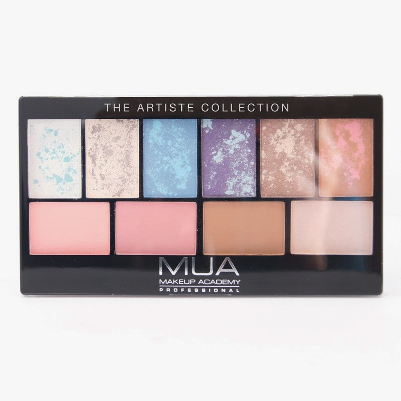 MUA - The Artiste Collection palette