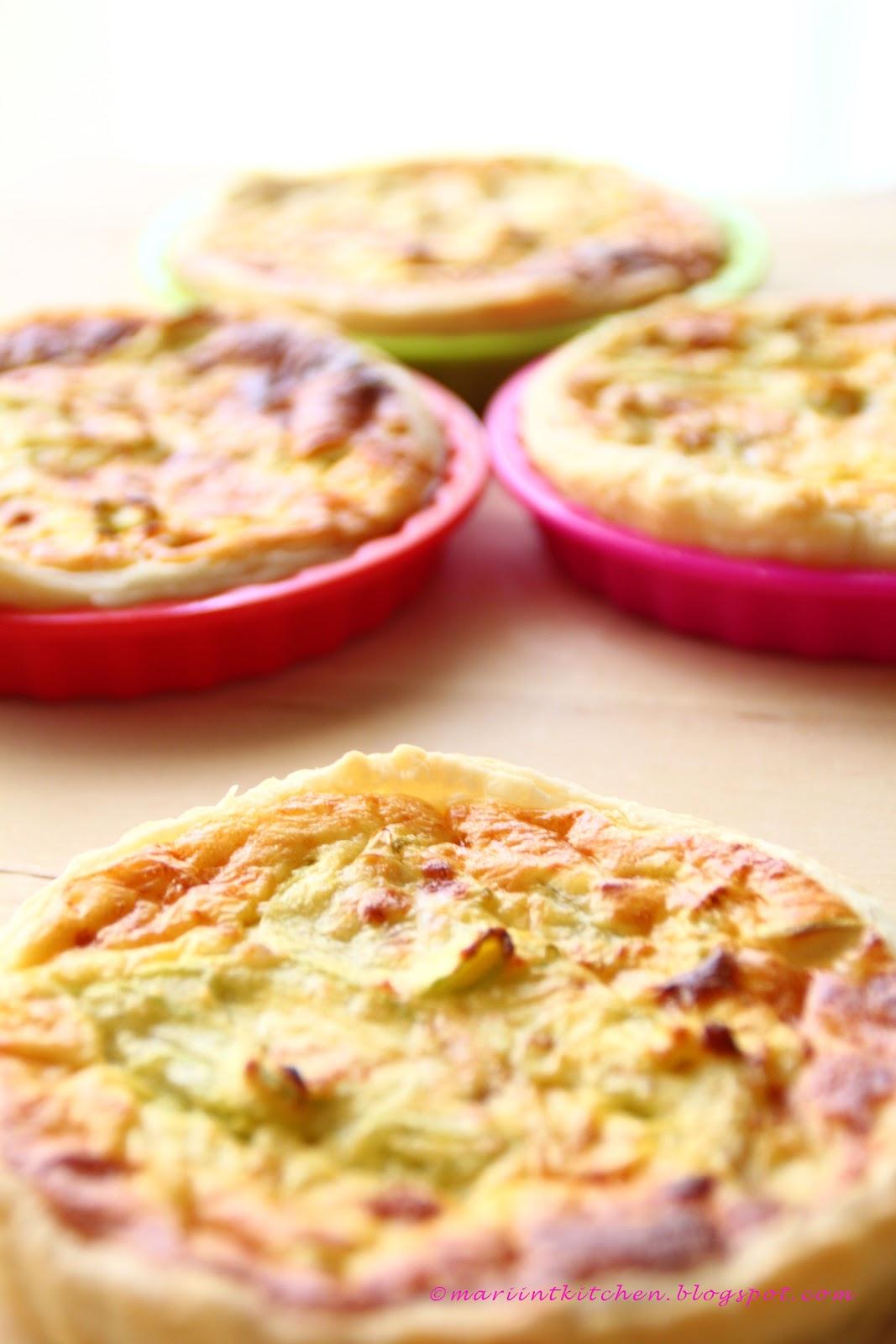 Mariintkitchen quiche con zucchine e yogurt greco for Cucinare yogurt greco