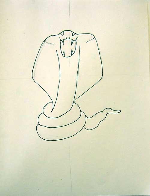 Cobra Head Drawing