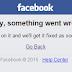Servidores do Facebook saem do ar, de novo!