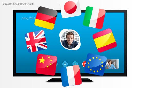skype traductor en outlook iniciar sesion