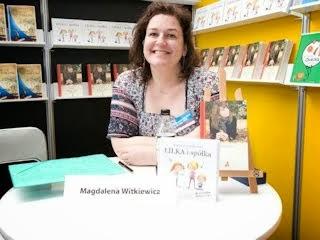 Wywiad z Magdaleną Witkiewicz.