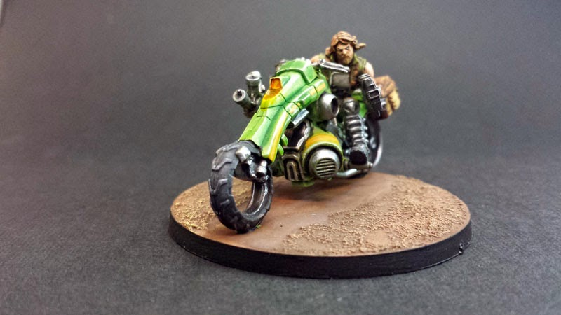 KUM MOTORIZED TROOPS - HAQQISLAM - INFINITY THE GAME 8