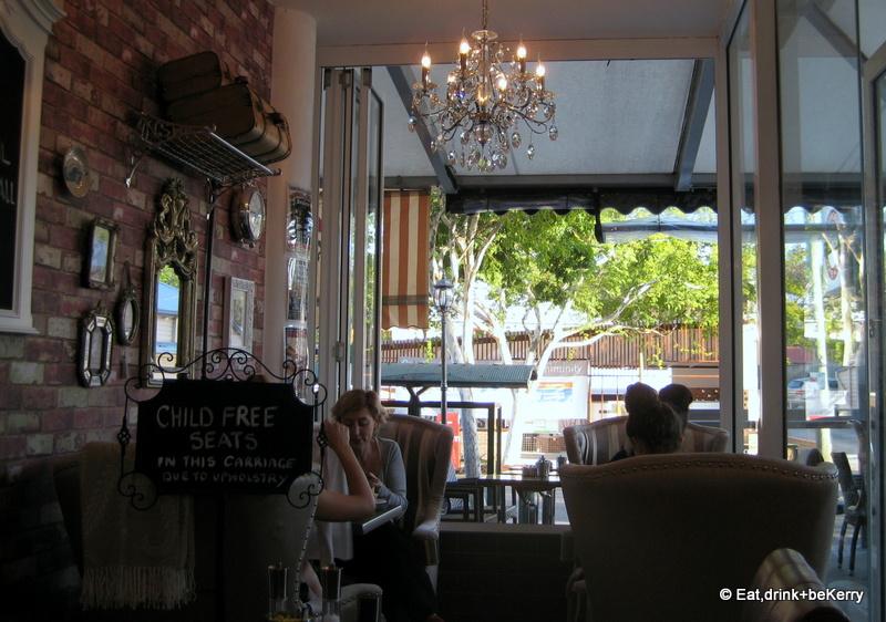 Paddington station coffee house rosalie for Blue room cinebar
