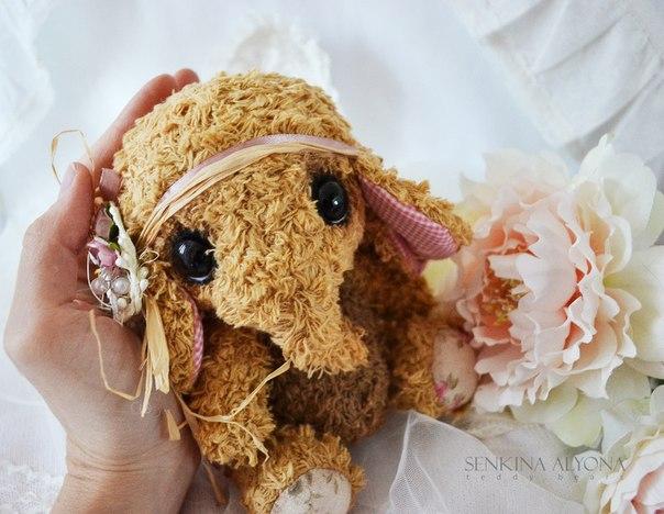 слон, слоник, мамонтенок, ручная работа, игрушка,elephant , teddy bear,bear , handmade