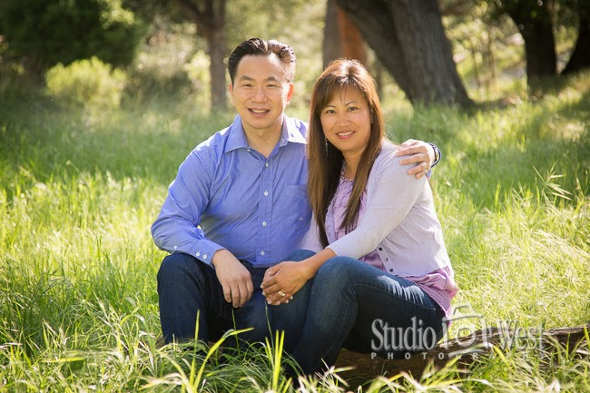 Atascadero Family Portrait - Studio 101 West Photography