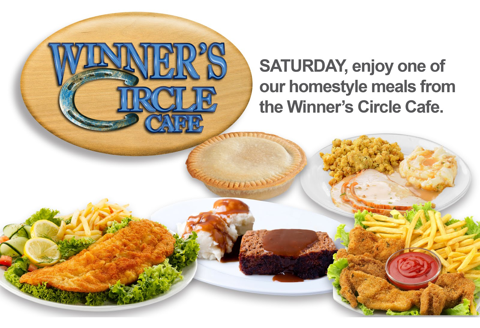 The Winner's Circle Cafe!!
