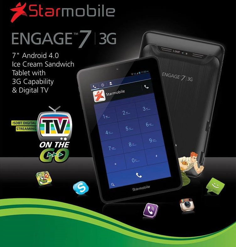 Starmobile Engage 7 3G: Specs, Price and Availability in the ...